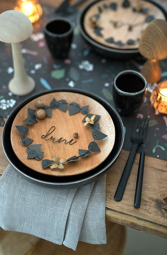 Украшение стола на День Рождения своими руками: фото